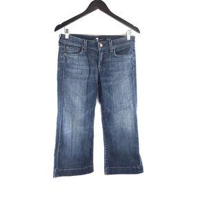 7 For All Mankind Dojo Capri Jeans